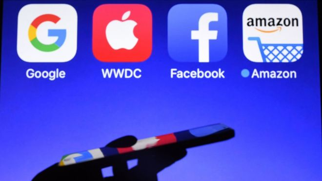 Google, Facebook, Apple y Amazon se enfrentan a la investigación antimonopolio de EE.UU.