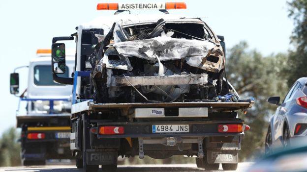 José Antonio Reyes: El accidente a alta velocidad del futbolista provoca enojo y debate