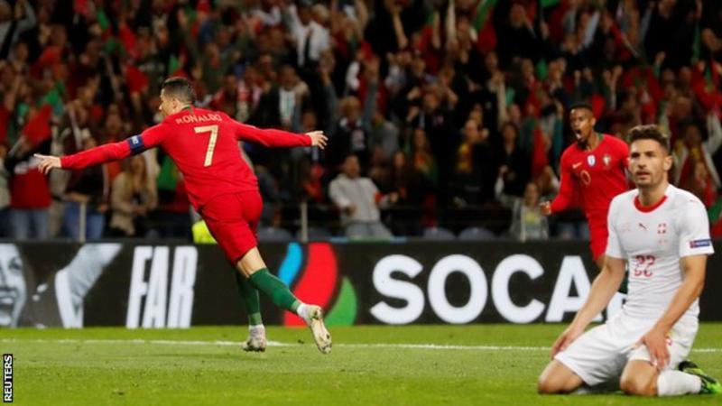Ronaldo vuelve a brillar en la escena internacional