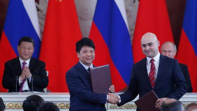 Huawei firma un acuerdo con una empresa rusa de telecomunicaciones para desarrollar 5G