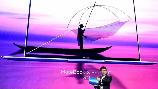 Huawei cancela el lanzamiento de su laptop debido a la lista negra del comercio de EE.UU.