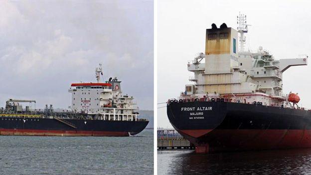 Explosión de dos petroleros en el Golfo de Omán: Tripulación rescatada a salvo
