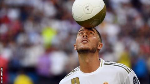 Eden Hazard: El nuevo fichaje del Real Madrid se presenta ante miles de personas en el Bernabéu
