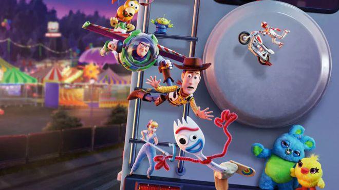 Toy Story 4 bate el récord mundial de animación