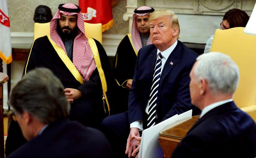 Demócratas, senadores republicanos quieren comprobar el poder de Trump para vender armas a los saudíes