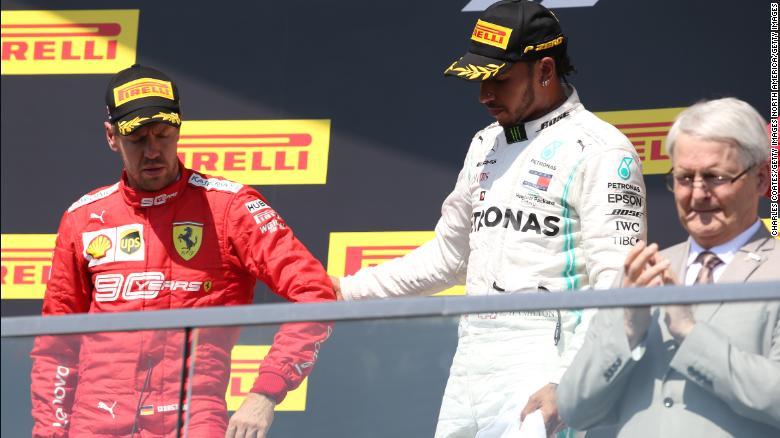 Ferrari apela la penalización de tiempo de Sebastian Vettel tras la protesta en las etapas de conducción