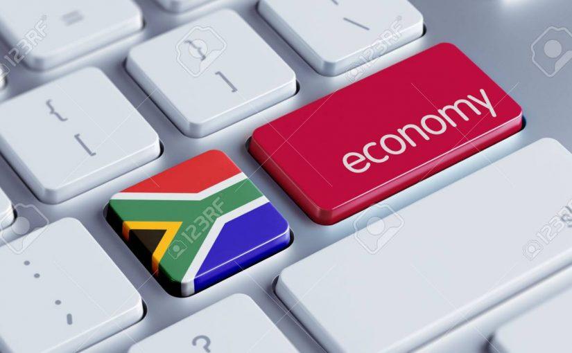 La economía de Sudáfrica cae en picado en casi una década